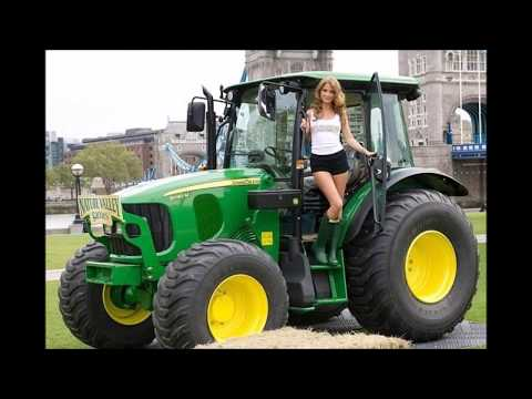 Girls on tractor naked farm you uneasy Also