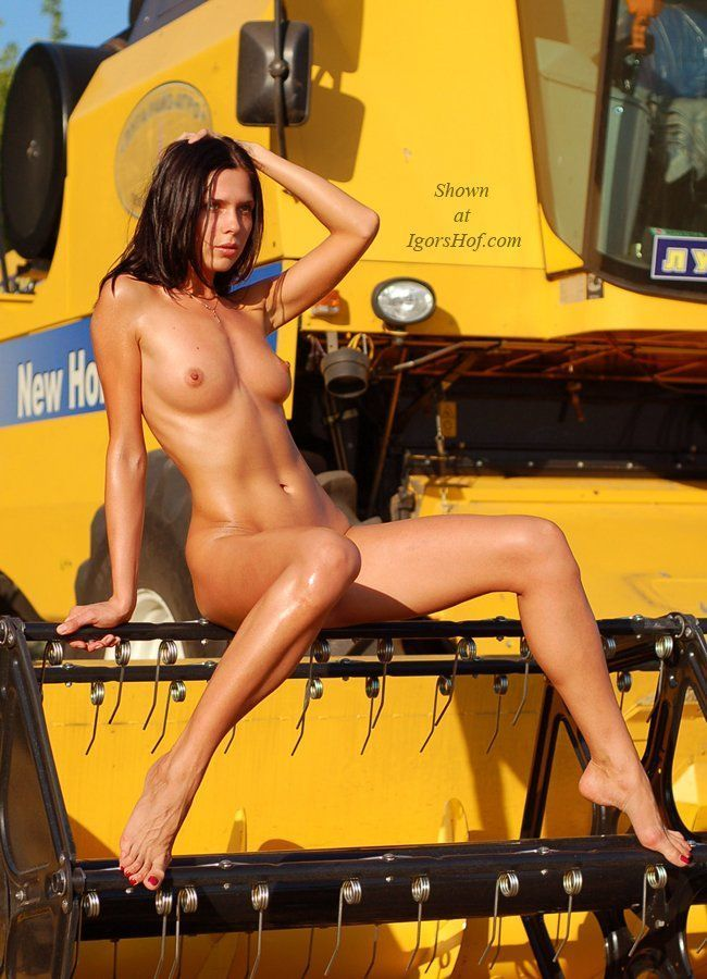 Erotic farm equipment calendar