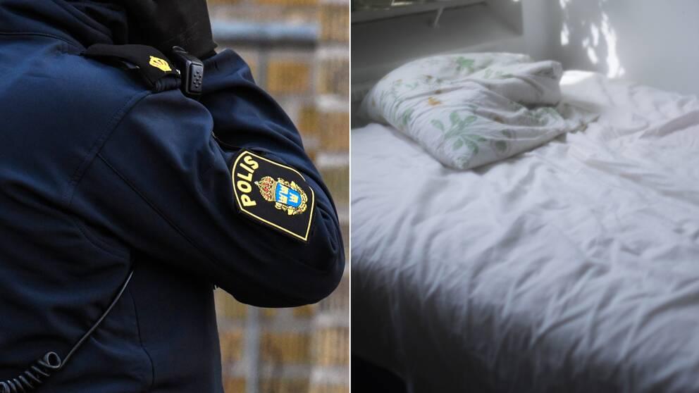 Nakna polis kvinnor