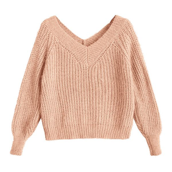 Nudes in short sweaters