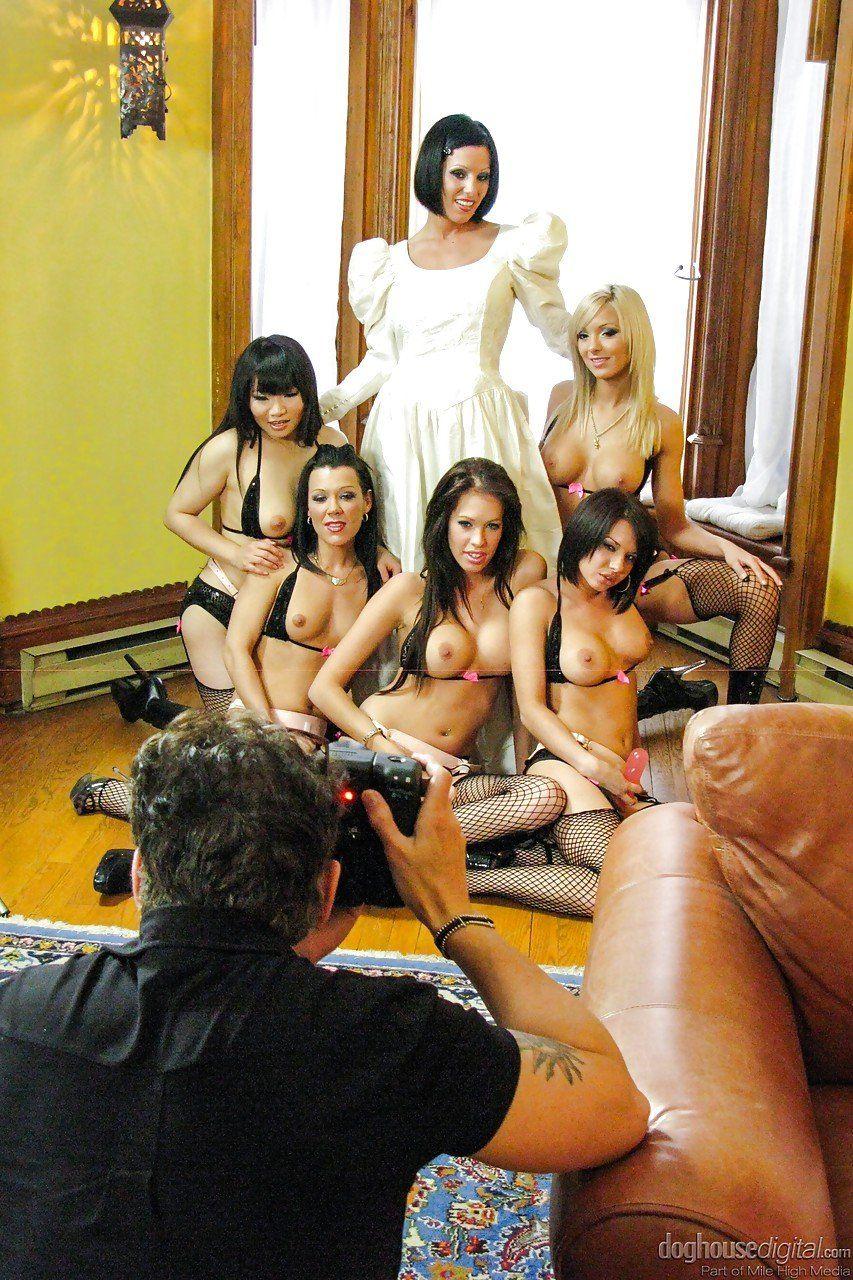 Orgy at wedding