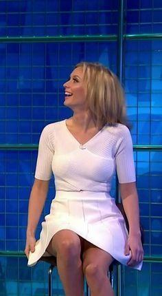 Women in short skirts in public