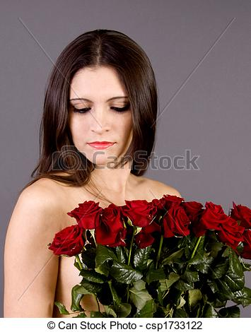 best of Nude female and Roses