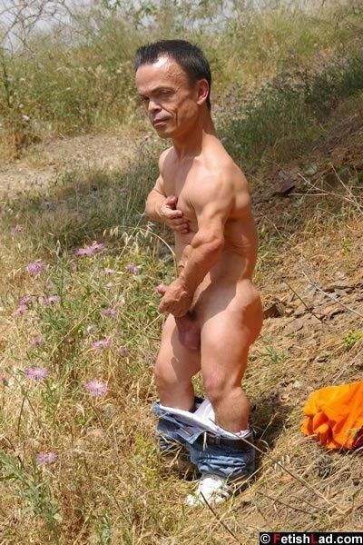 best of Midget guy naked Sexy