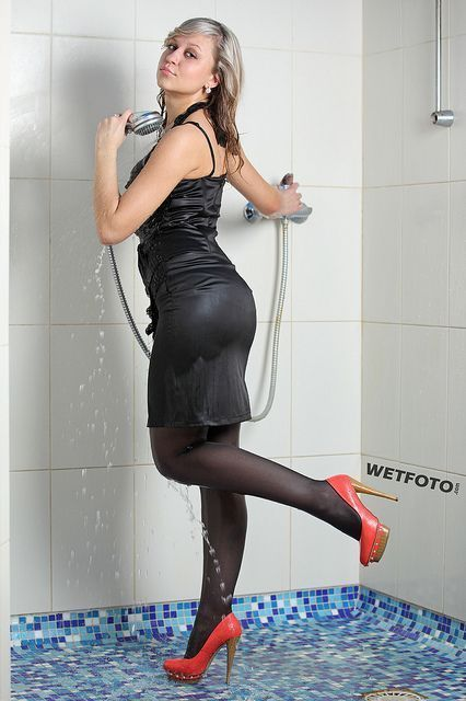 Tinker reccomend Women in wet business suits