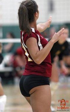 volleyball spandex porn