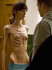 Impossible skinny anorexic girls having sex impossible